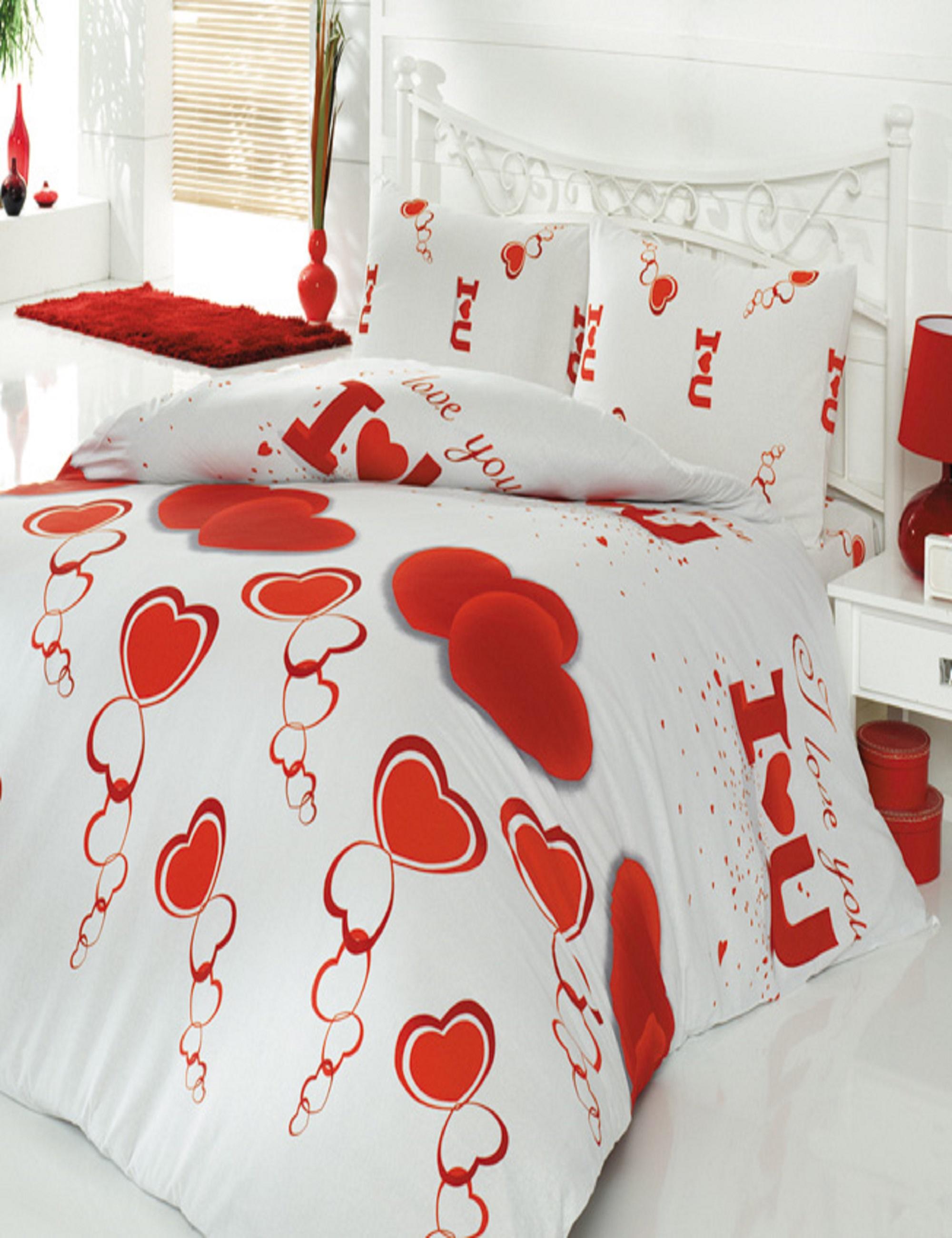 Постельное белье Cotton Life Постельное белье Love You (1,5 спал.)