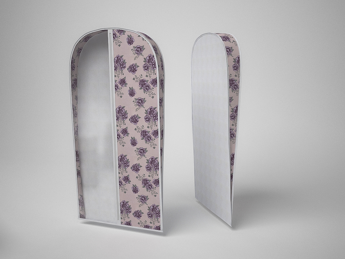 {} CoFreT Чехол для одежды Шебби Нью (10х60х130 см) чехлы для одежды cofret чехол для шапок шебби нью 116