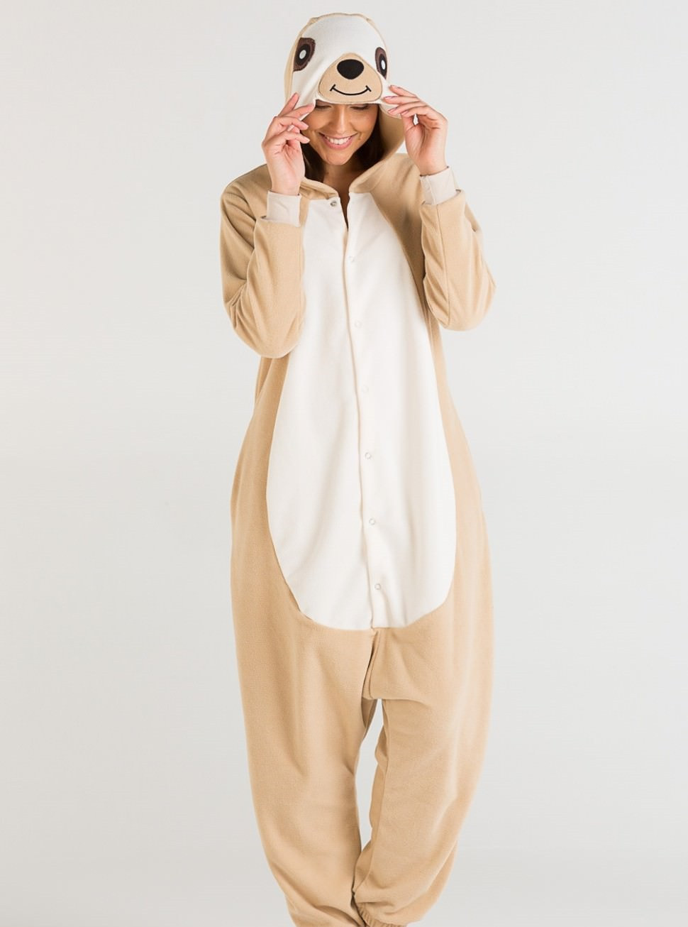 Пижамы Футужама Пижама-кигуруми Ленивец (L) пижамы футужама пижама кигуруми тигр xs