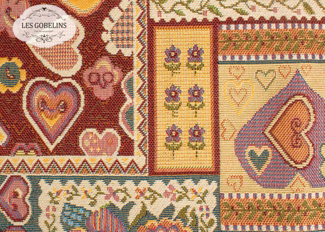 Покрывало Les Gobelins Накидка на диван Coeurs Espagnol (130х230 см) les gobelins les gobelins накидка на диван nymphe 190х220 см