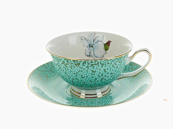 {} Best Home Porcelain Чайная пара Морская Волна (200 мл) best home porcelain кружка морская волна 375 мл