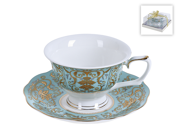 {} Best Home Porcelain Чайная пара Valencia (220 мл)