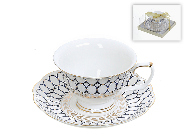 {} Best Home Porcelain Чайная пара Olympia (220 мл)
