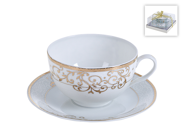 {} Best Home Porcelain Чайная пара Ballet (300 мл) кружка amber porcelain 220 мл 214176