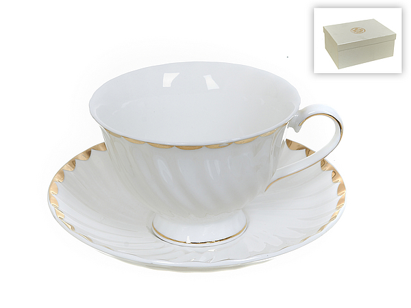 {} Best Home Porcelain Набор кружек Золотая Волна (200 мл) best home porcelain набор кружек мелодия весны 200 мл