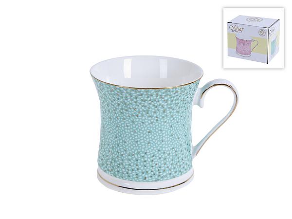 {} Best Home Porcelain Кружка Морская Волна (375 мл) best home porcelain кружка фарфоровая звездопад 400 мл 8 цветов