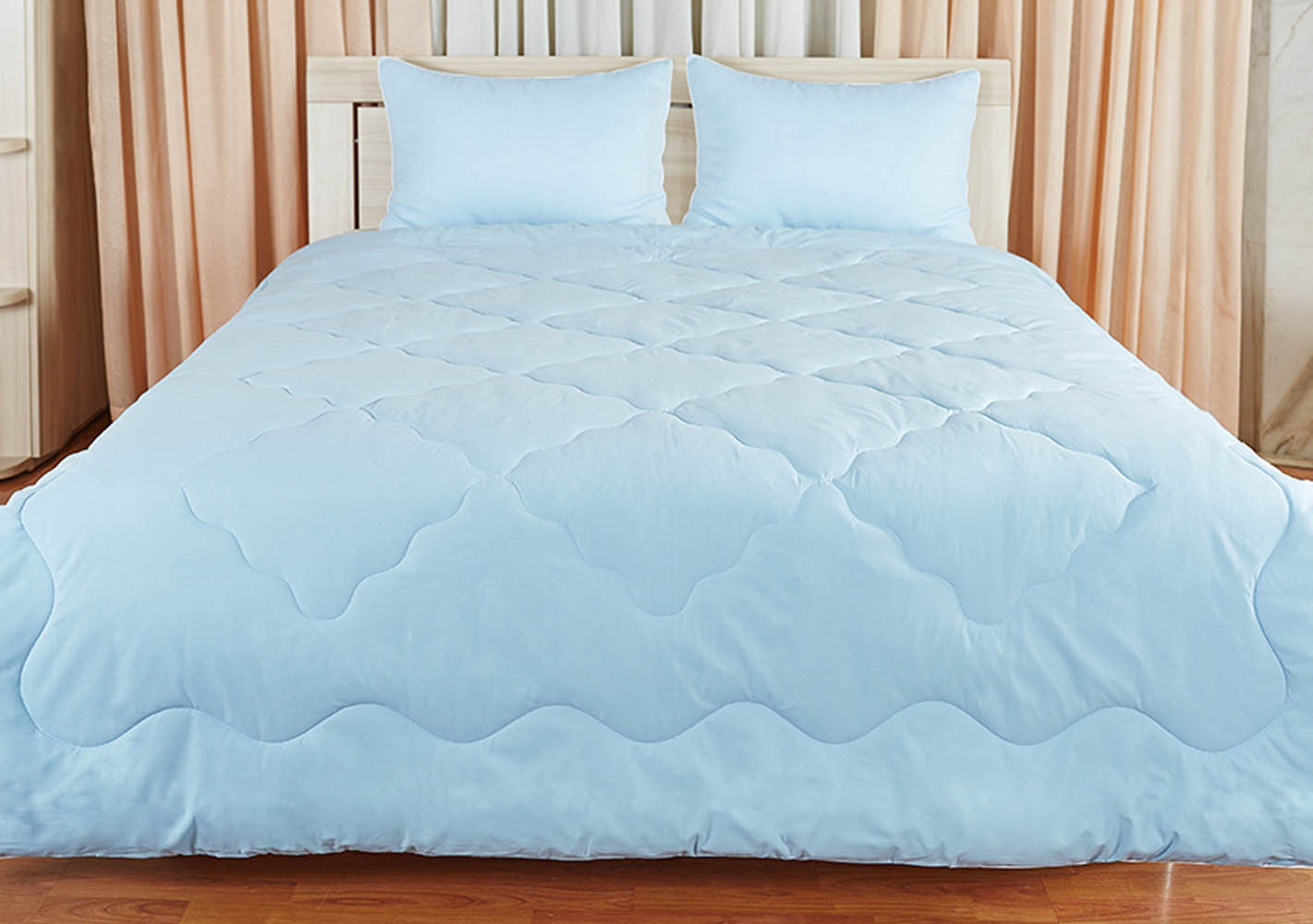 Одеяла Primavelle Одеяло Лежебока Цвет: Голубой (140х205 см)