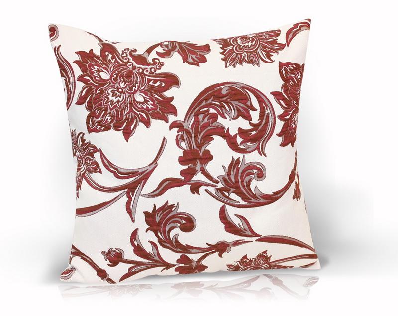 Декоративные подушки Kauffort Декоративная подушка Ramo Цвет: Бордовый (40х40)