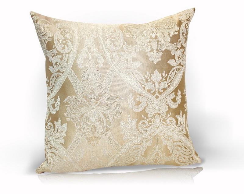 Декоративные подушки Kauffort Декоративная подушка Bergamo Цвет: Бежевый (40х40)