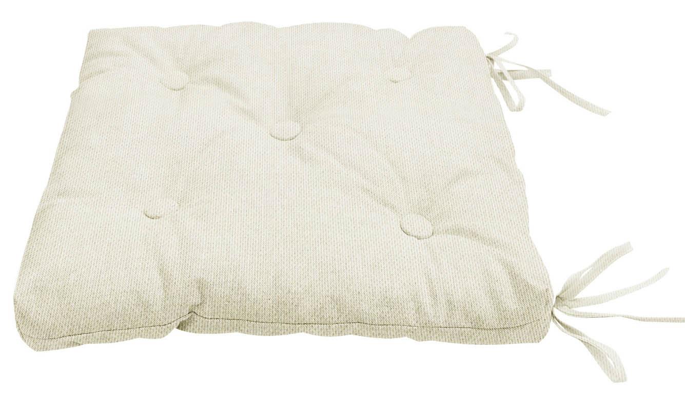 Подушки на стул Kauffort Подушка на стул Нosta Цвет: Кремовый (40х40) подушка на стул арти м райский сад