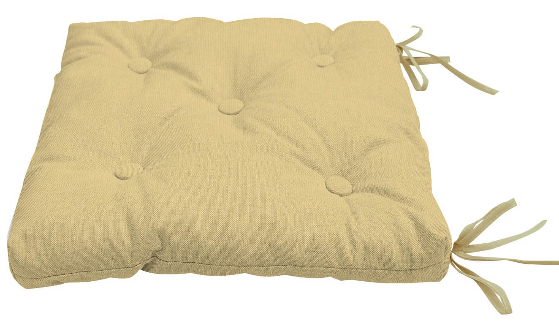 Подушки на стул Kauffort Подушка на стул Нosta Цвет: Бежевый (40х40) подушка на стул арти м райский сад