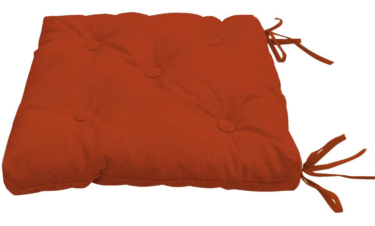 Подушки на стул Kauffort Подушка на стул Нosta Цвет: Красный (40х40) подушка на стул арти м райский сад