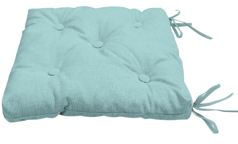 Подушки на стул Kauffort Подушка на стул Нosta Цвет: Голубой (40х40) подушка на стул арти м райский сад