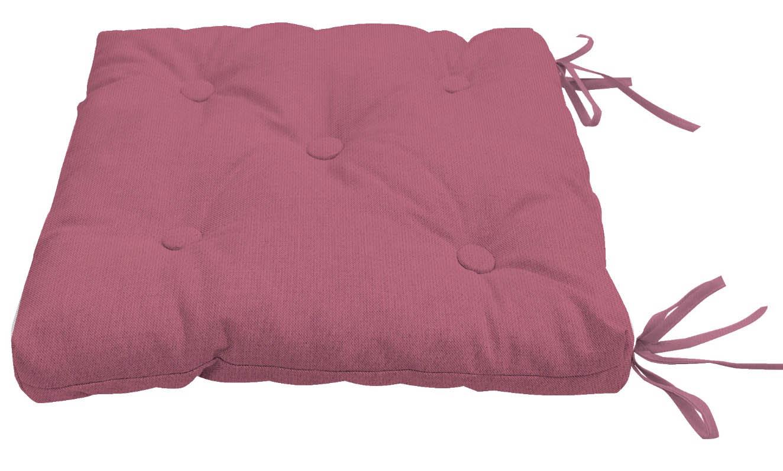 Подушки на стул Kauffort Подушка на стул Нosta Цвет: Розово-Сиреневый (40х40) подушка на стул арти м райский сад