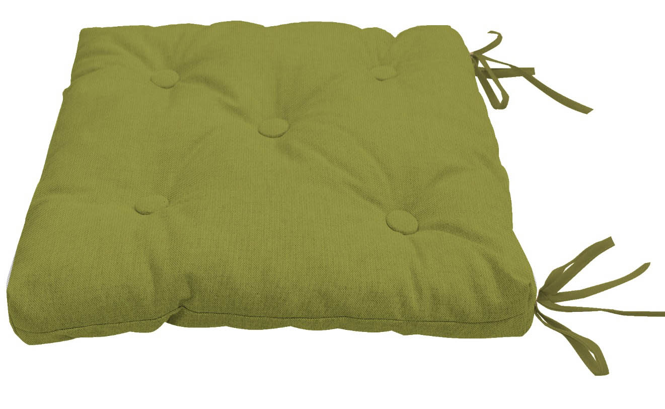 Подушки на стул Kauffort Подушка на стул Нosta Цвет: Темно-Зеленый (40х40) подушка на стул арти м райский сад