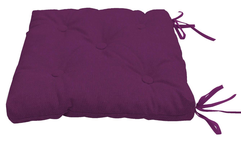 Подушки на стул Kauffort Подушка на стул Нosta Цвет: Бордово-Фиолетовый (40х40) подушка на стул арти м райский сад