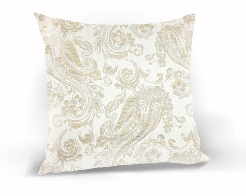 Декоративные подушки Kauffort Декоративная подушка Paisley Цвет: Светло-Бежевый (40х40)