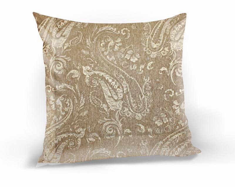 Декоративные подушки Kauffort Декоративная подушка Paisley Цвет: Коричневый (40х40)