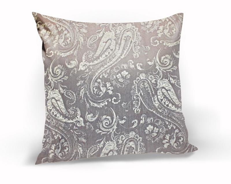Декоративные подушки Kauffort Декоративная подушка Paisley Цвет: Светло-Шоколадный (40х40)