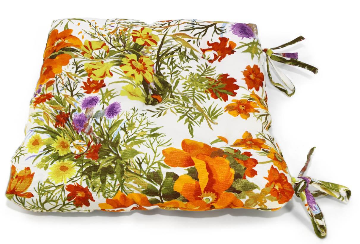 Подушки на стул Kauffort Подушка на стул Primavera Цвет: Оранжевый (40х40) подушка на стул арти м райский сад