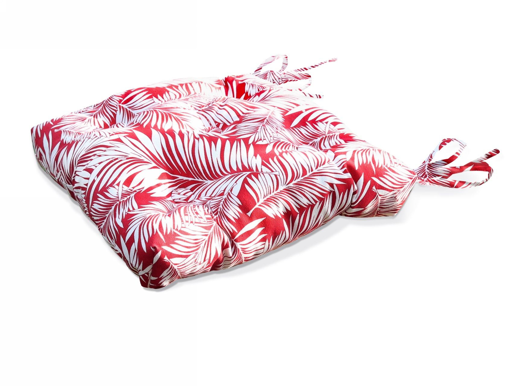 Подушки на стул Kauffort Подушка на стул Palma Цвет: Красный (40х40) подушка на стул арти м райский сад