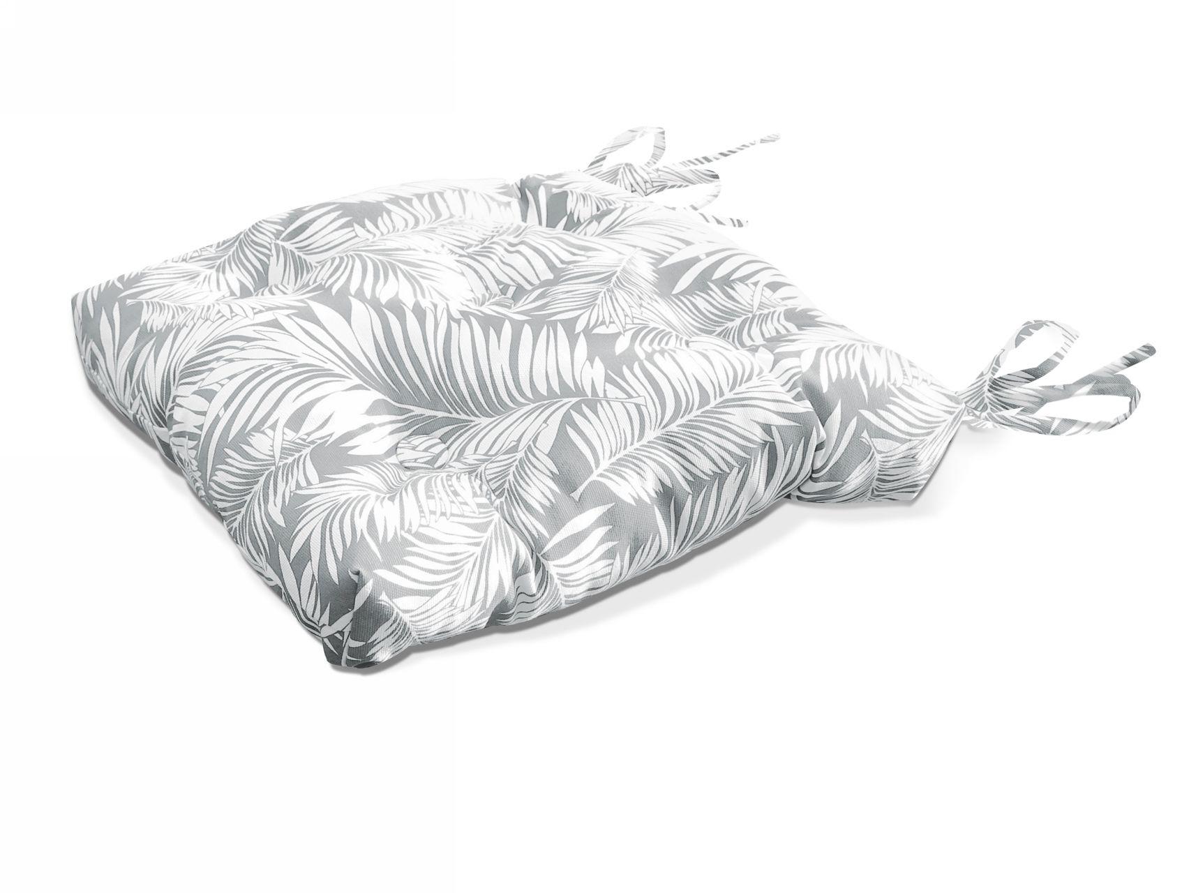 Подушки на стул Kauffort Подушка на стул Palma Цвет: Серый (40х40) подушка на стул арти м райский сад