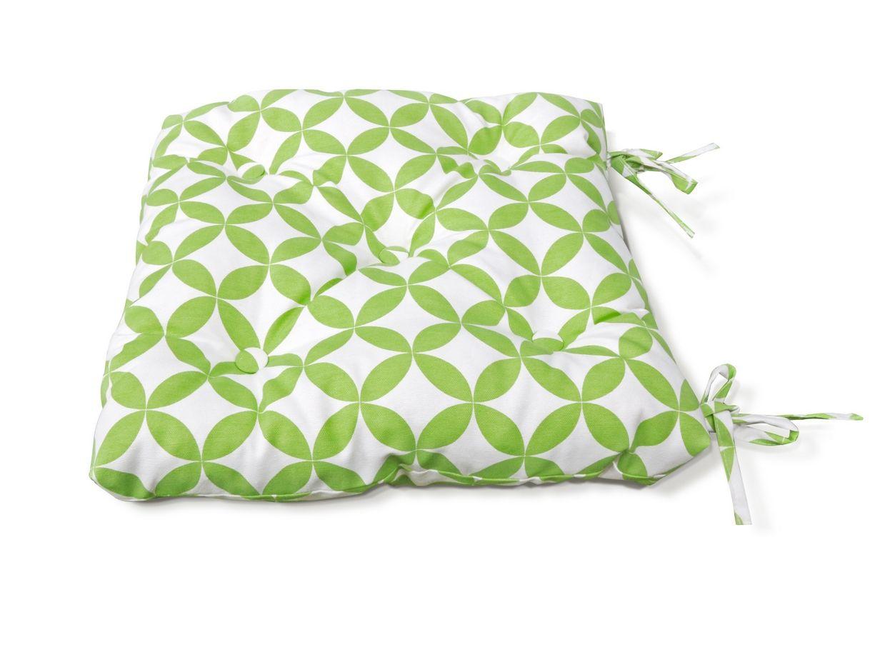 Подушки на стул Kauffort Подушка на стул Round - S Цвет: Зеленый (50х50) подушка на стул арти м райский сад