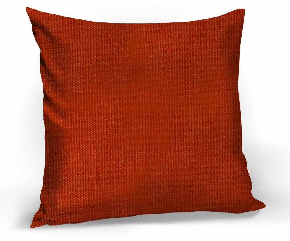 где купить Декоративные подушки Kauffort Декоративная подушка Hosta Цвет: Красный (40х40) по лучшей цене