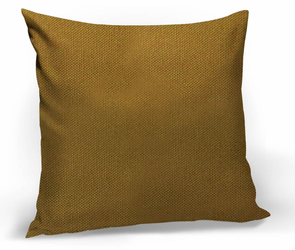 Декоративные подушки Kauffort Декоративная подушка Hosta Цвет: Горчичный (40х40)
