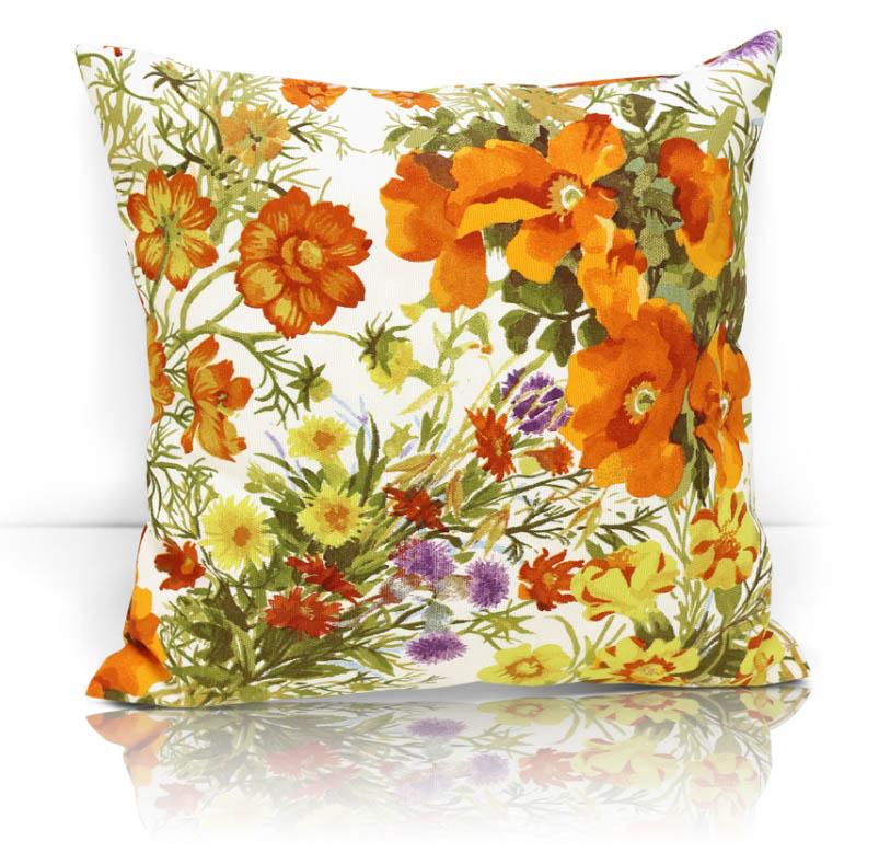 Декоративные подушки Kauffort Декоративная подушка Primavera Цвет: Оранжевый (40х40) primavera