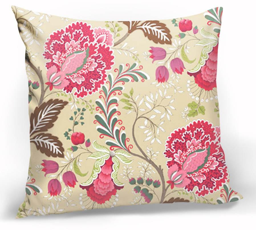 Декоративные подушки Kauffort Декоративная подушка Casandra Цвет: Розовый (40х40)