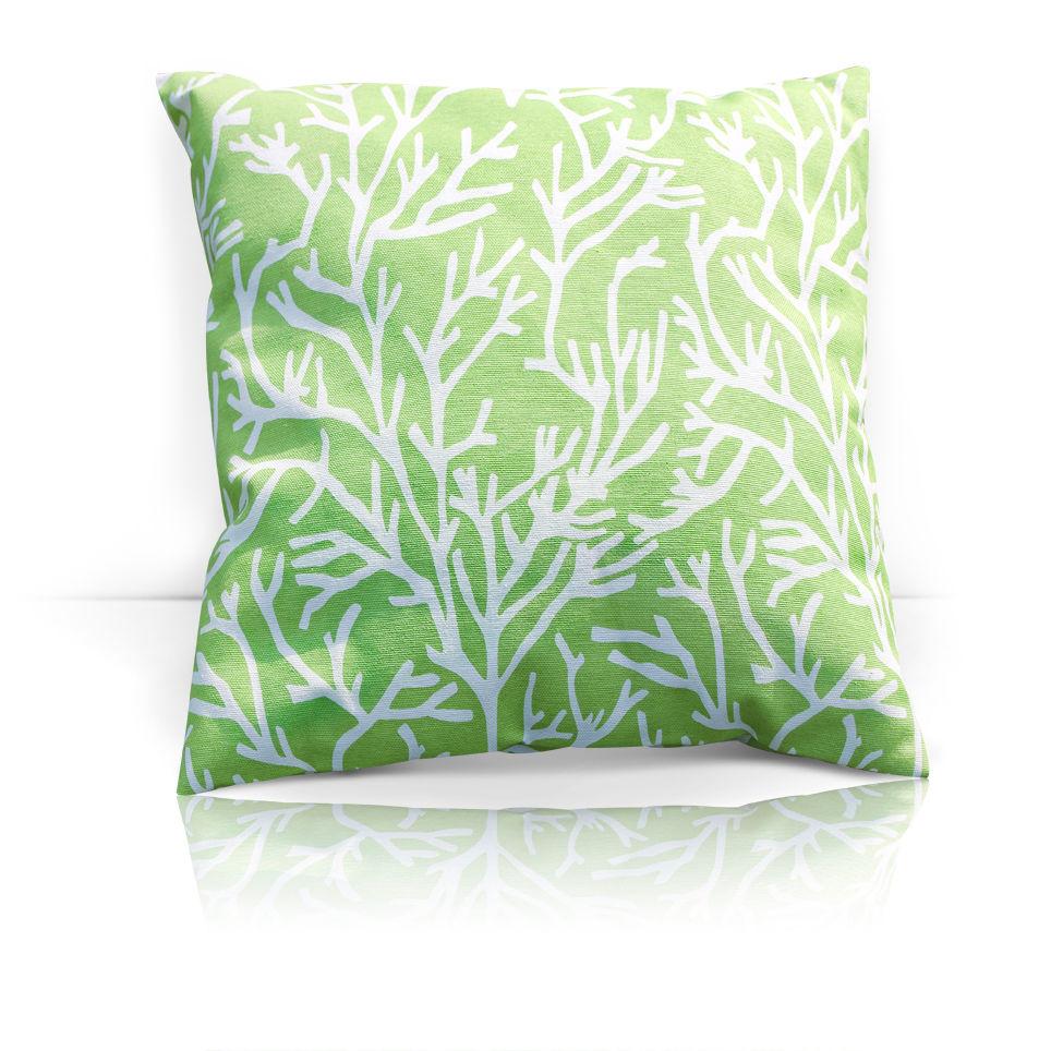 Декоративные подушки Kauffort Декоративная подушка Corals Цвет: Зеленый (40х40) штора kauffort barolo k