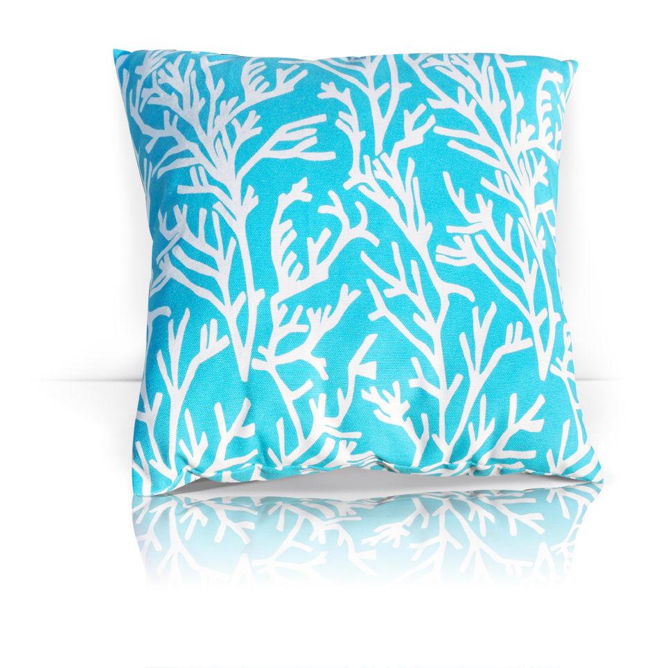 Декоративные подушки Kauffort Декоративная подушка Corals Цвет: Небесно-Голубой (40х40) штора легкая kauffort barolo