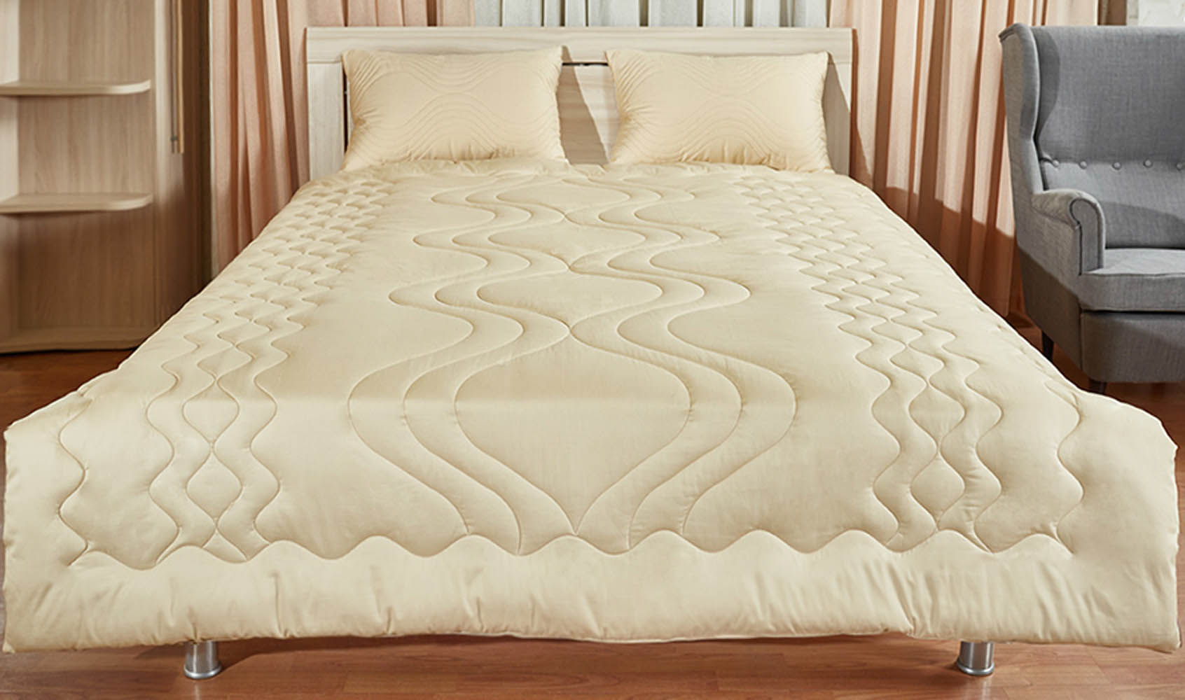 Одеяла Primavelle Одеяло Lamb Цвет: Бежевый (172х205 см) одеяло лэмби цвет бежевый 172 см х 205 см