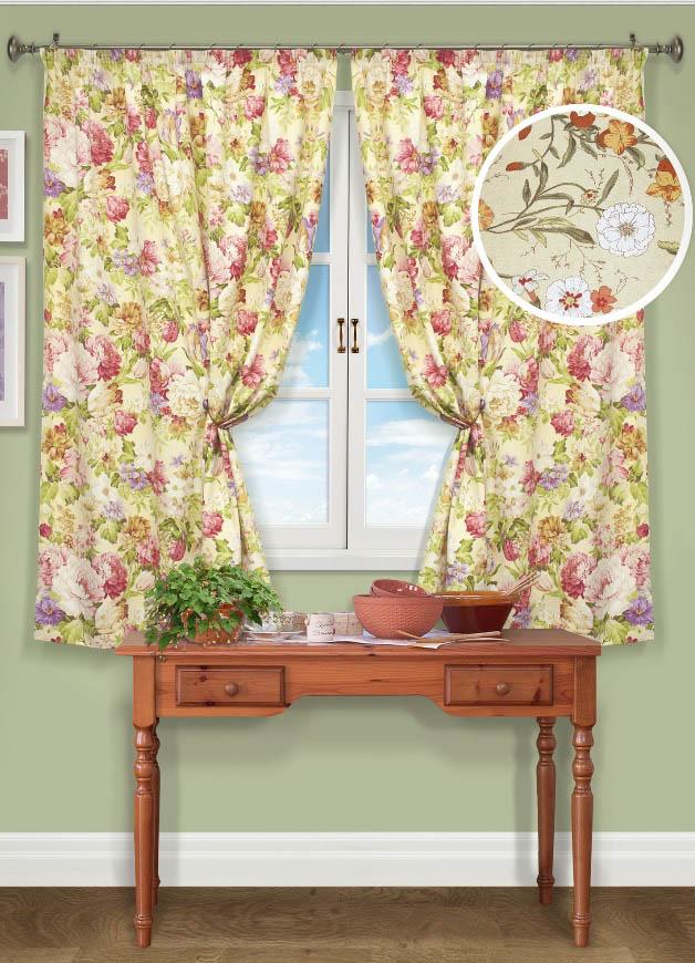 Шторы Kauffort Классические шторы Campanula Цвет: Бежевый шторы kauffort классические шторы barolo