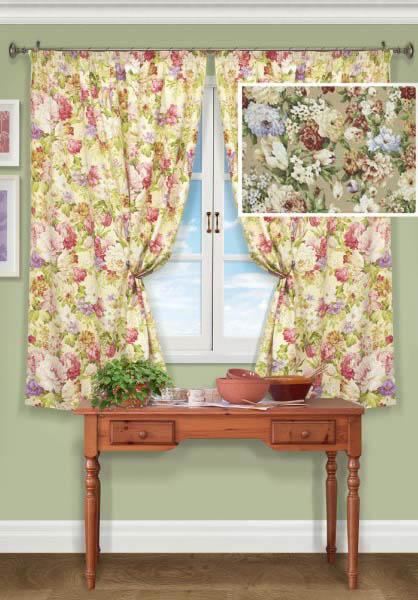 Шторы Kauffort Классические шторы Flora-S