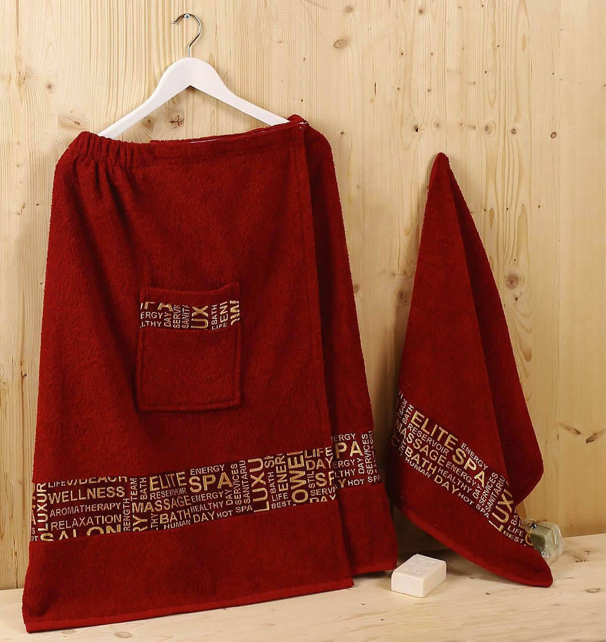 Сауны, бани и оборудование Karna Набор для сауны Relax Цвет: Бордовый сауны бани и оборудование valentini набор для сауны fashion цвет песочный