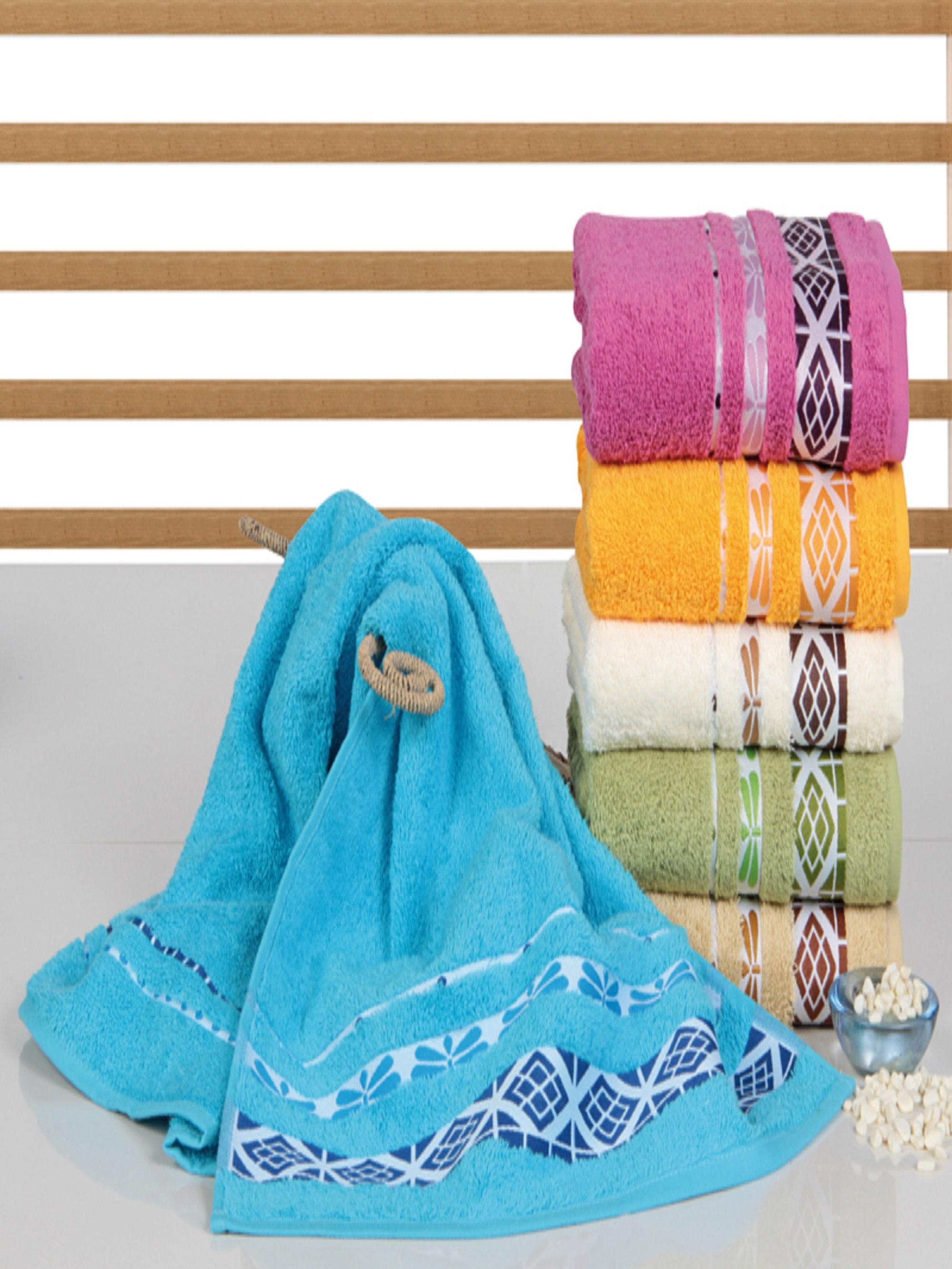 Полотенца Sikel Полотенце Koza (70х140 см - 6 шт) sikel набор из 2 полотенец nazande цвет коричневый