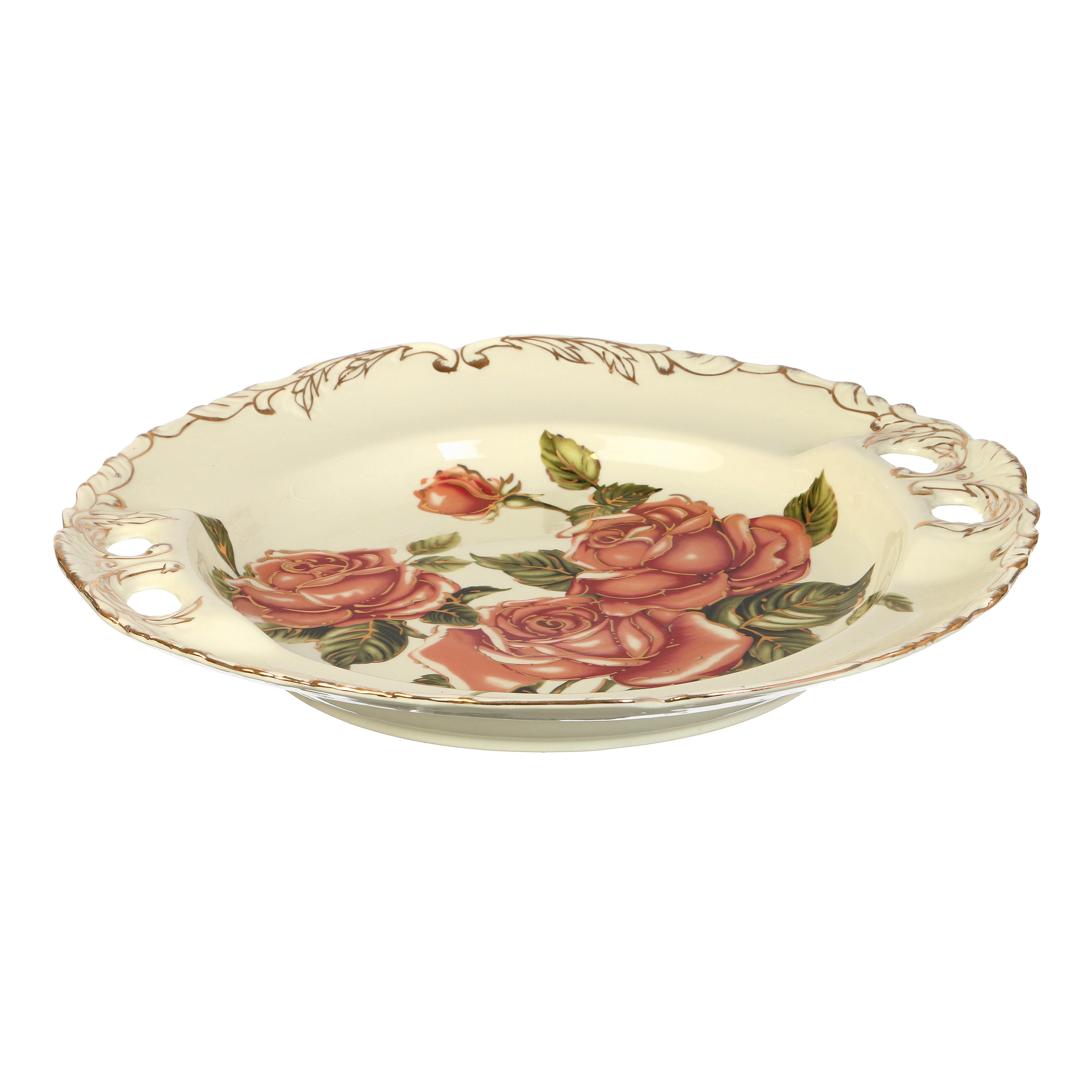 {} Lefard Блюдо Корейская Роза (6х36 см) блюдо шубница корейская роза 29 18 5 см