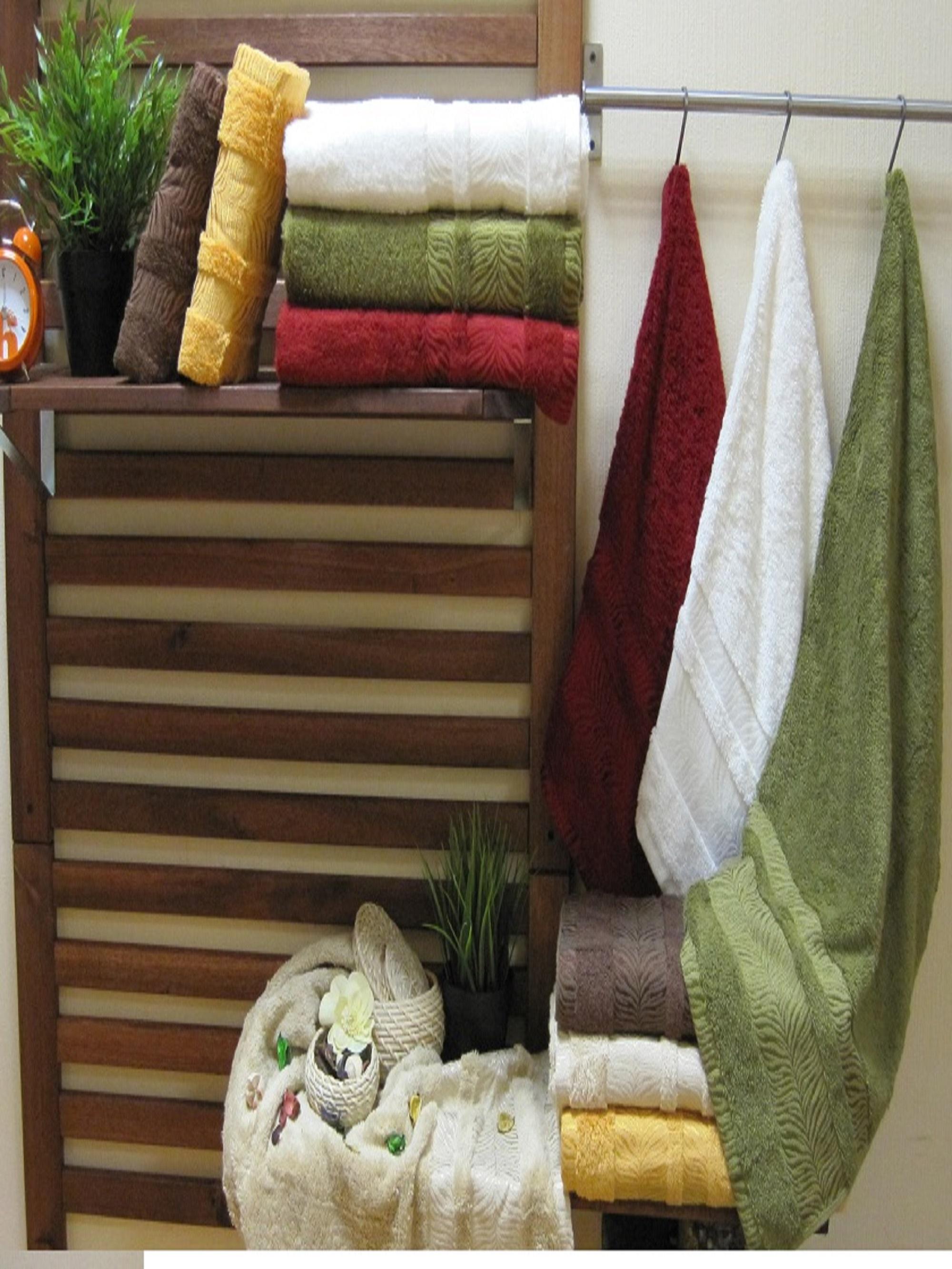 Полотенца Sikel Полотенце Зебра Софт (70х140 см - 6 шт) sikel набор из 2 полотенец nazande цвет коричневый