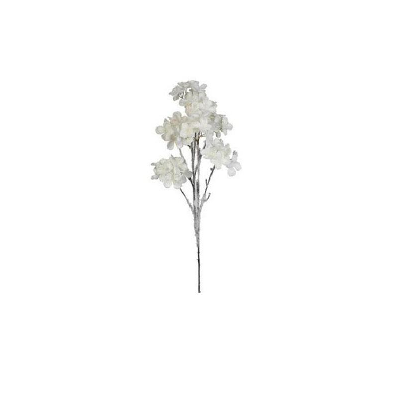 {}  Гортензия Заснеженная Цвет: Белый (73 см)