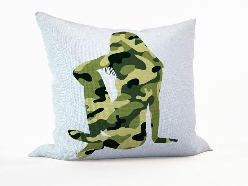 Декоративные подушки StickButik Декоративная подушка Боевая Единица (45х45)