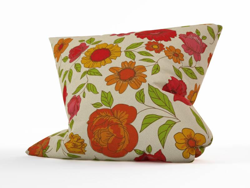 Декоративные подушки StickButik Декоративная подушка Винтажные Цветы (45х45)