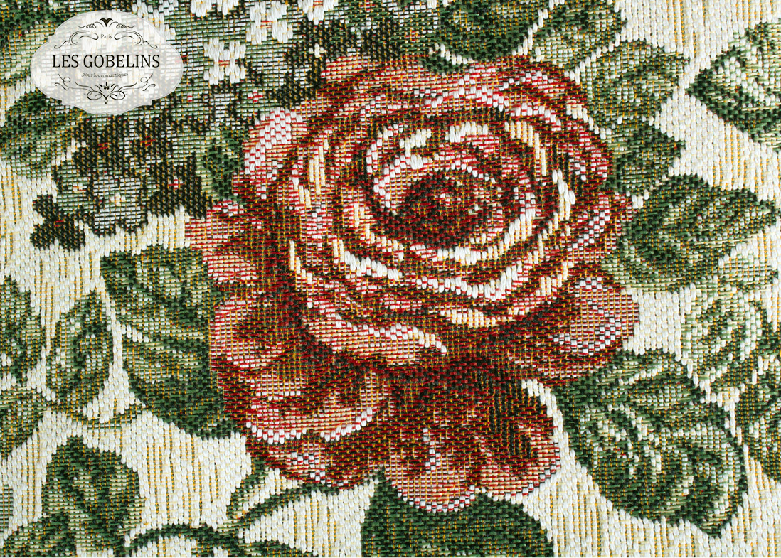Покрывало Les Gobelins Накидка на диван Art Floral (140х160 см)