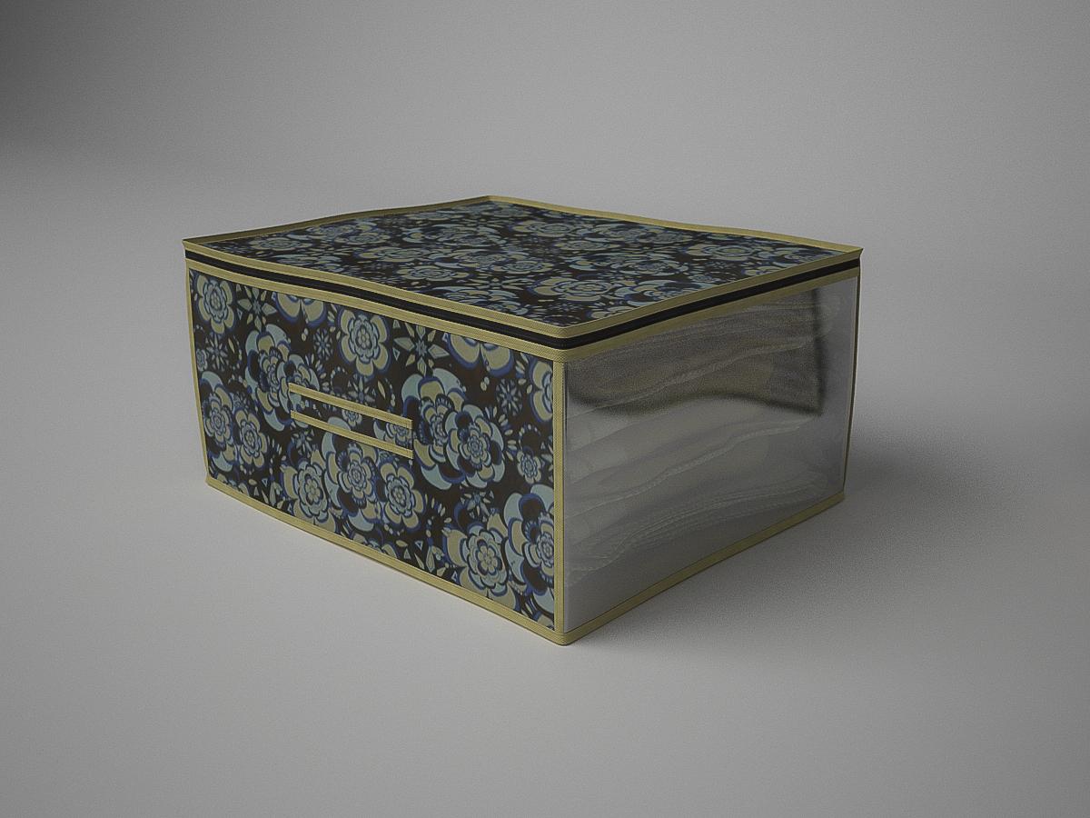 {} CoFreT Кофр для хранения Прованс (30х50х60 см) кофр стеллажный для хранения вещей valiant vintage 2 секции 50 x 30 x 20 см