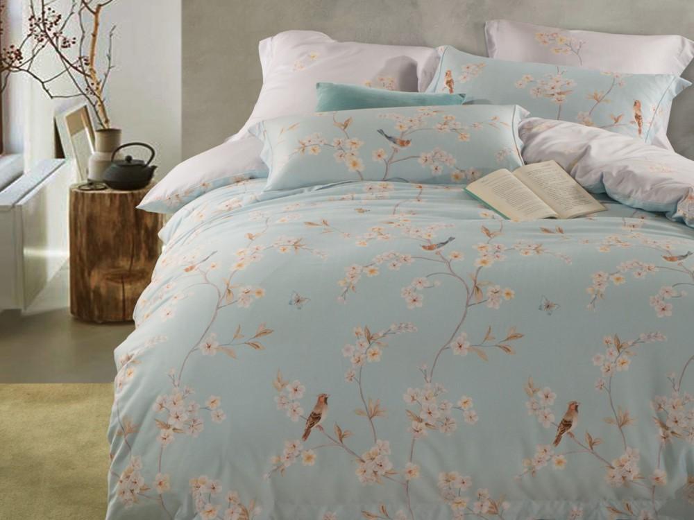 Постельное белье Asabella Постельное белье Fulvia  (1,5 спал.) постельное белье asabella постельное белье 1 5 спальное тенсел сатин