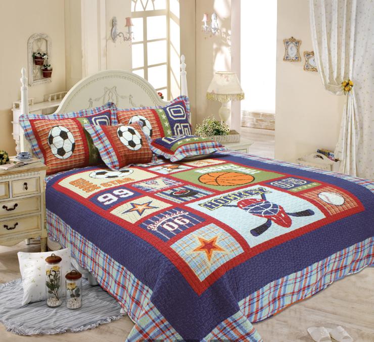 где купить Детские покрывала, подушки, одеяла Tango Детское покрывало Спорт (180х220 см) по лучшей цене