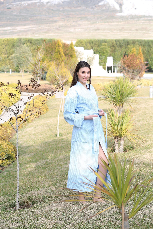 Сауны, бани и оборудование Philippus Халат Nathalie Цвет:  (L-xL) купить шелковый халат мужской спб