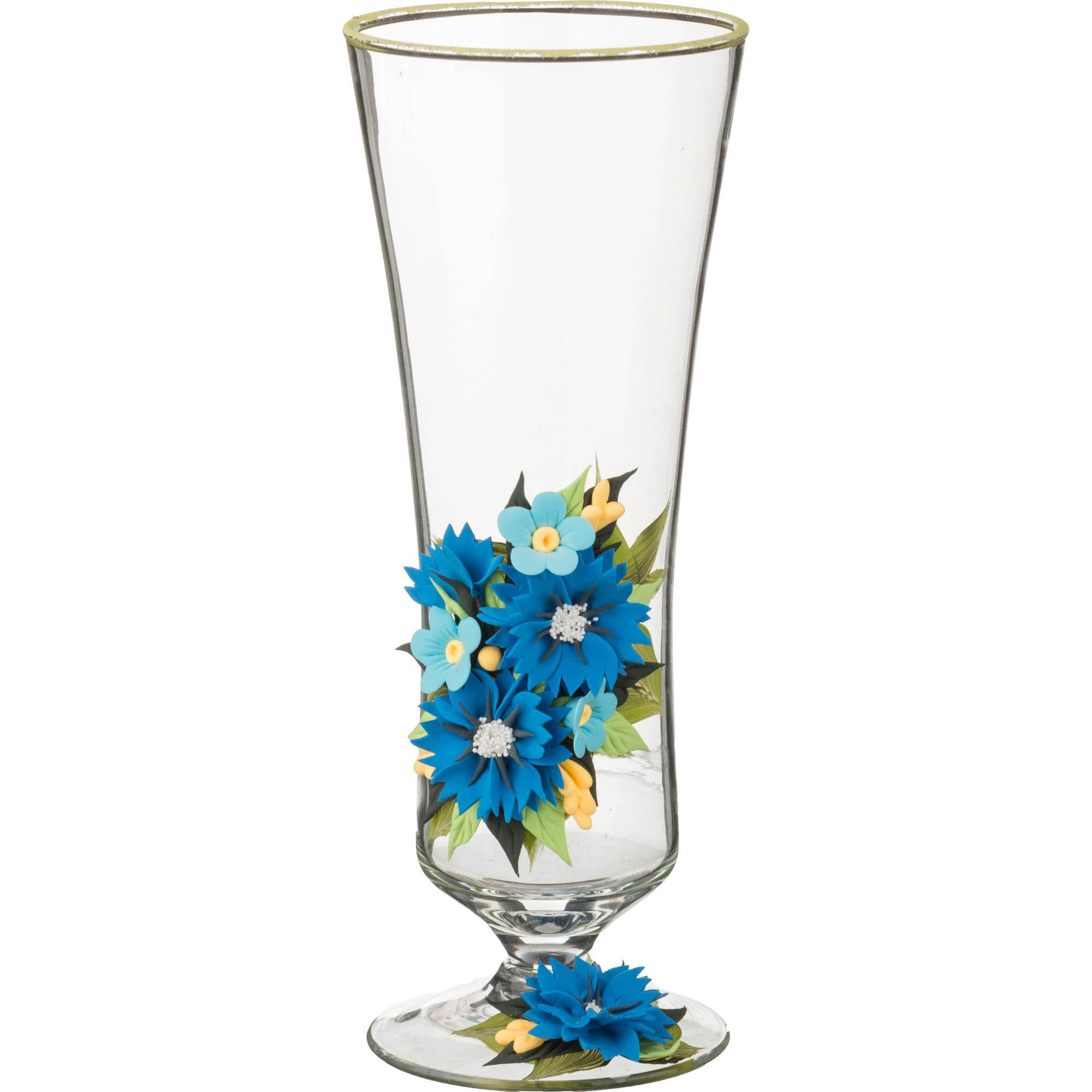 {} Arti-M Ваза Васильки (26 см) ваза кружева цветов 26 см