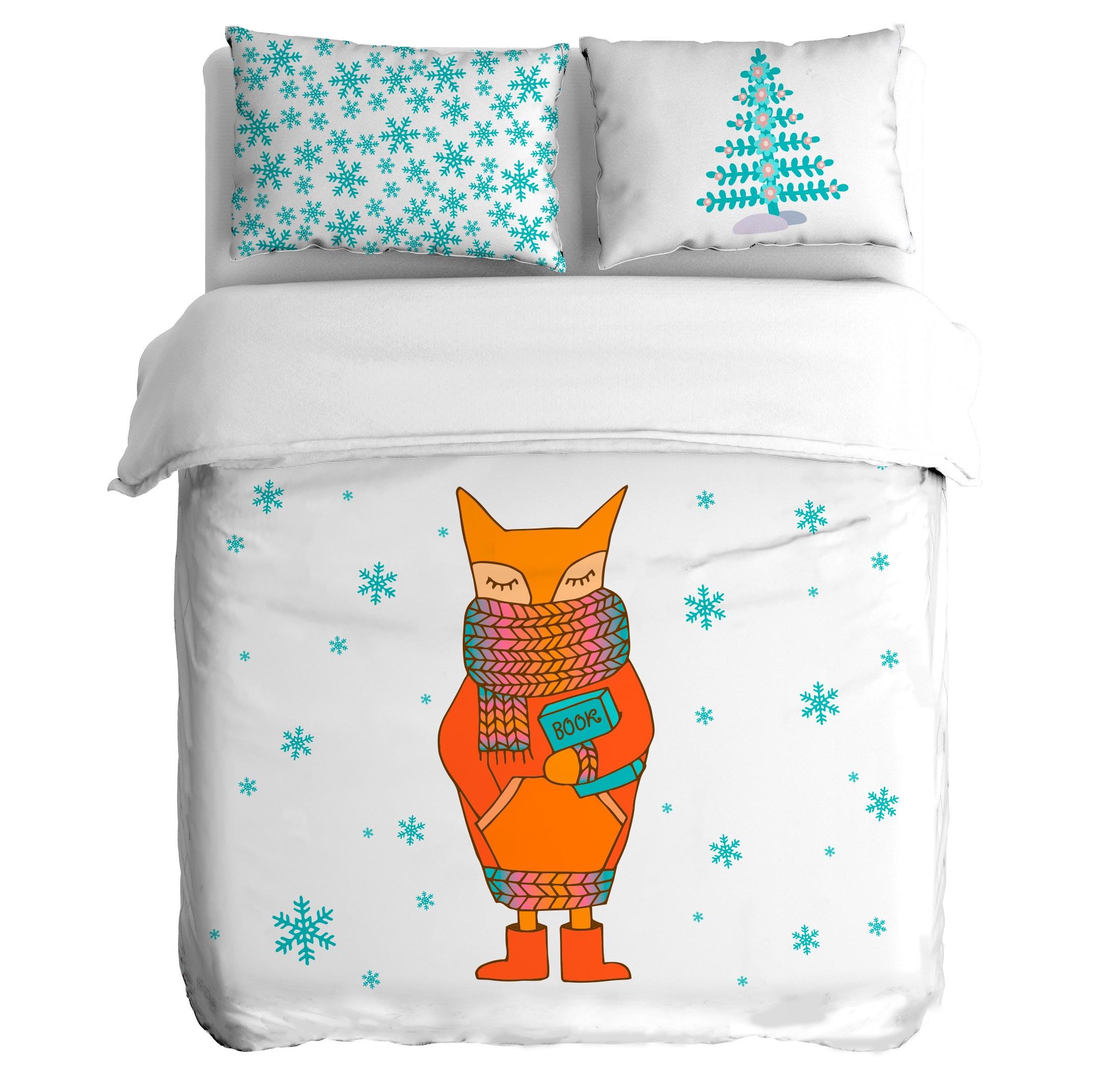 Постельное белье Peach Постельное белье First snowfall (1,5 спал.)